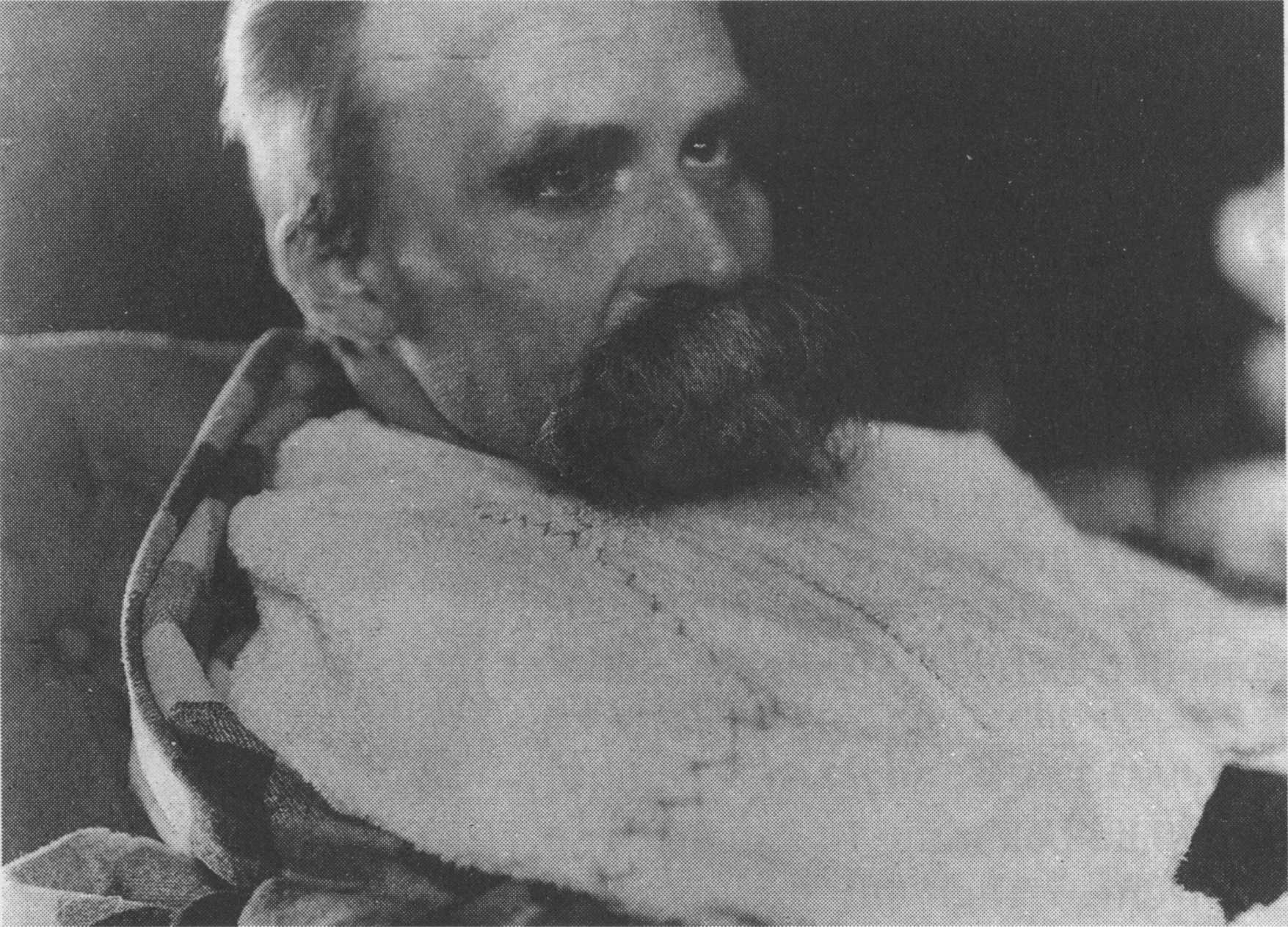 Фридрих Ницше в психиатрической клинике, 1899 г.